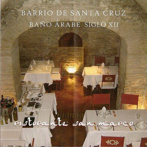 Baños Arabes Londres:El restaurante Pizzería San Marco, enmarcado en un baño árabe casi